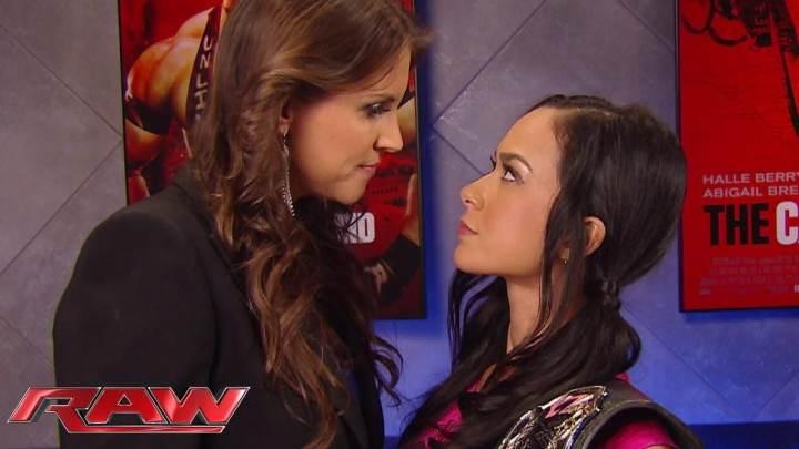 AJ faces Steph