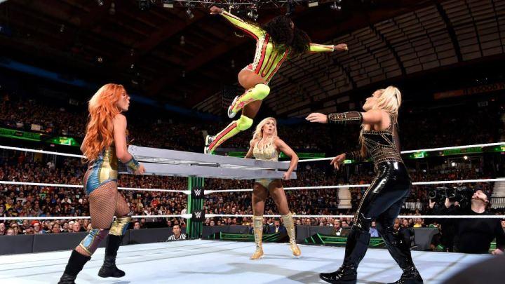 Naomi jumps